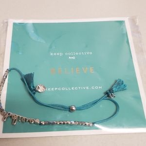 New Keep Collective Believe Bracelet